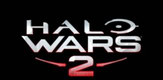 Halo Wars 2 Stacked Logo on Black