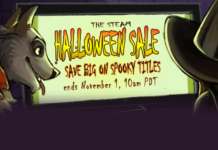 steam halloween sales