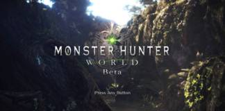 Preload Monster Hunter World Beta