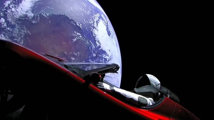 SpaceX Falcon Heavy - Starman