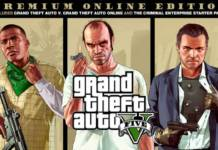 GTA V Grand Theft Auto V: Premium Online Edition