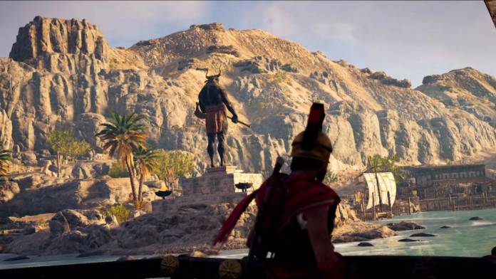 assassin's creed odissey screen