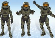 Halo Master Chief Avatar Costume - Xbox One