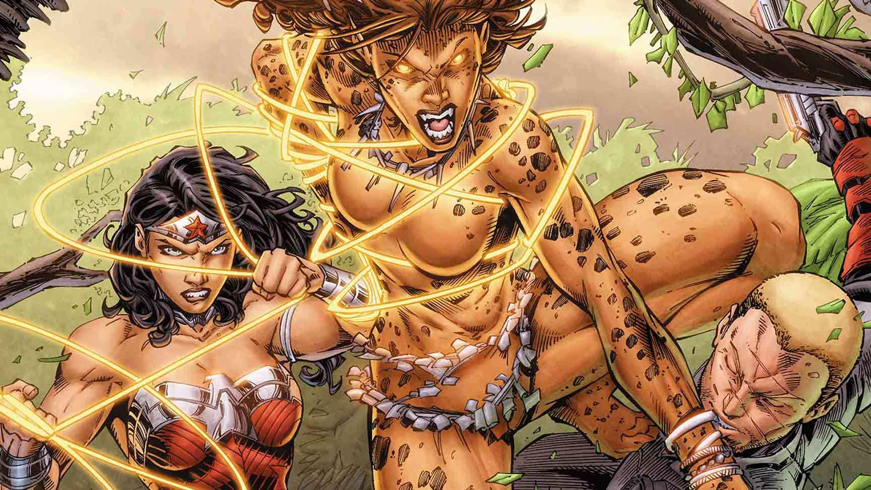 Wonder Woman villain Cheetah