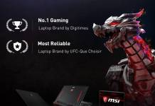 MSI laptops LR