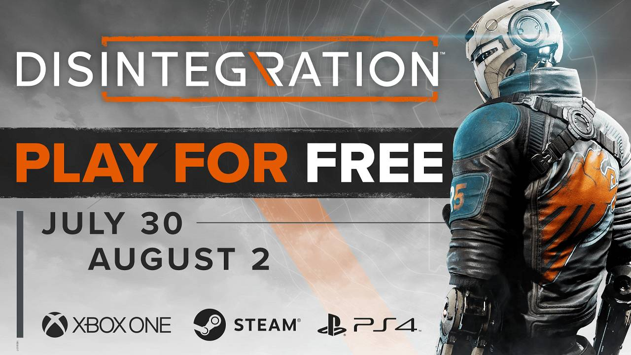 Disintegration: in arrivo il weekend free to play