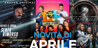 Amazon Prime Video Aprile